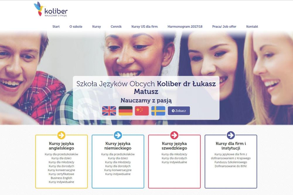 szkoła językowa koliber