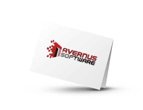 Projekt logo dla Avernus Software zDąbrowy Górniczej