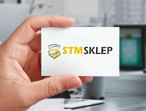 Projekt logo dla firmy STM