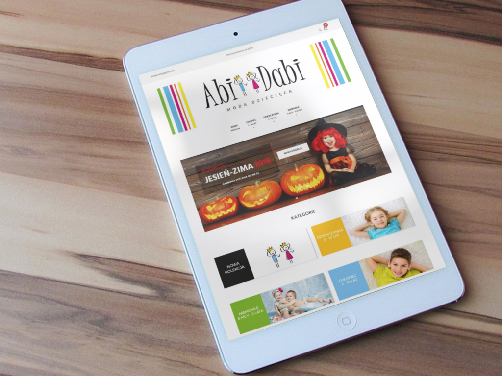 Sklep internetowy AbiDabi naWordpress WooCommerce