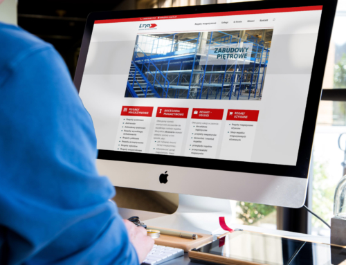 Responsywna strona internetowa dla LTM-regaly.pl zGdyni