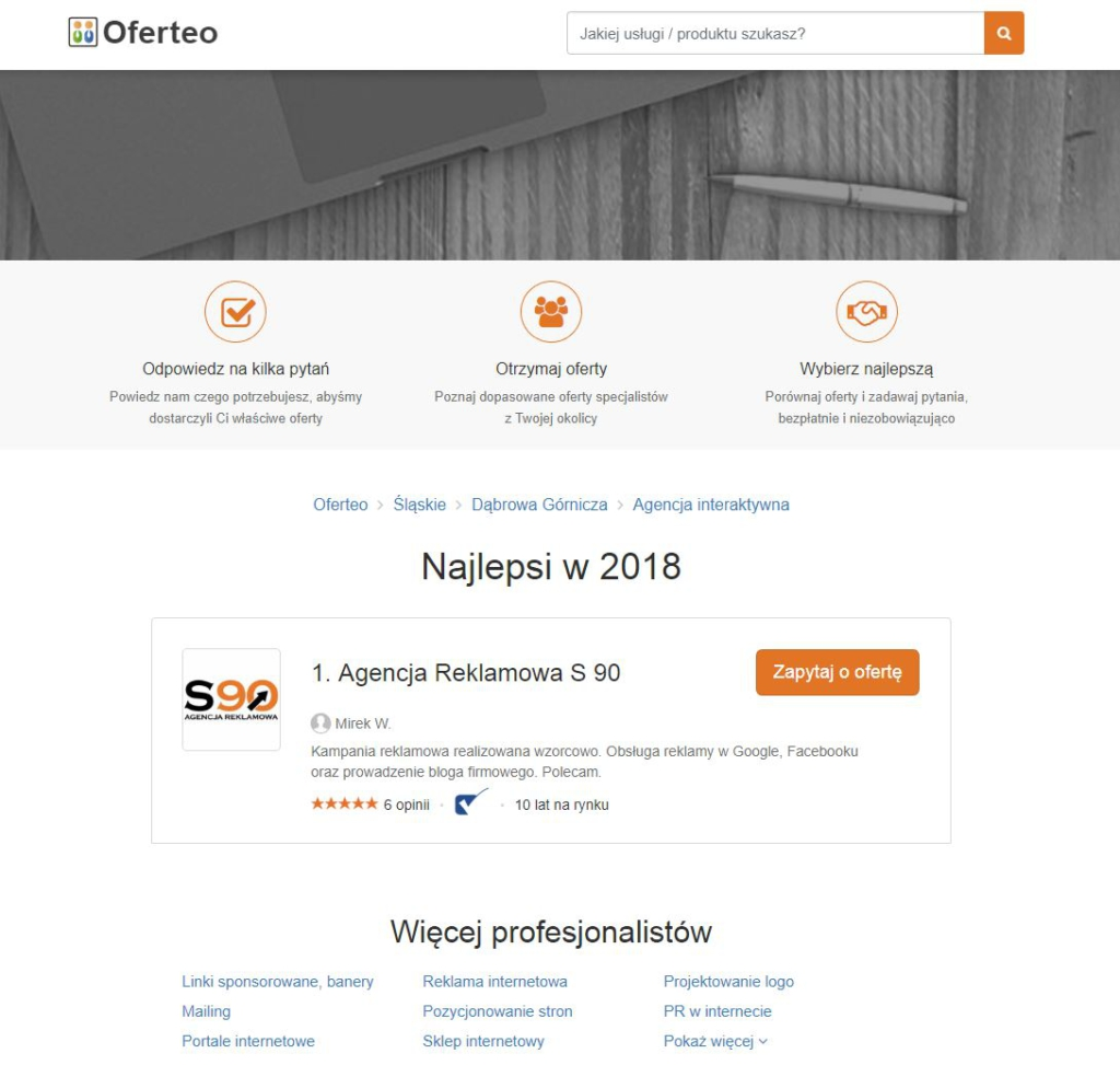 Agencja Interaktywna - Dąbrowa Górnicza