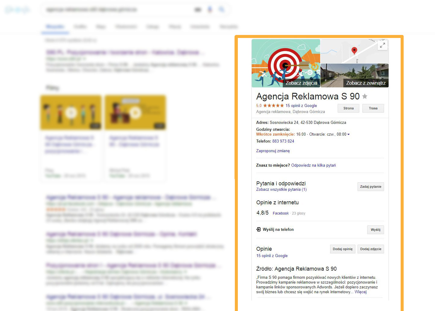 google-miejsca