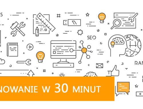 [w 30 minut] Jak pozycjonować stronę wGoogle samemu?