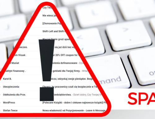 Zabezpieczenie iadministracja WordPress, ochrona przedSPAMem