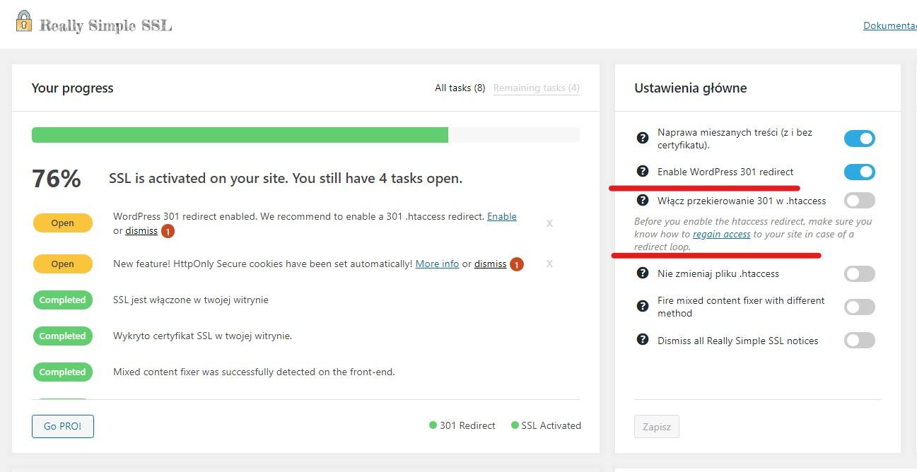 Jak włączyć certyfikat SSL nastronie WordPress?