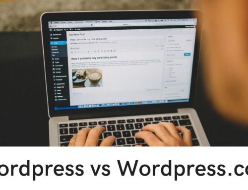 WordPress vs WordPress.com – naco postawić tworząc blog?